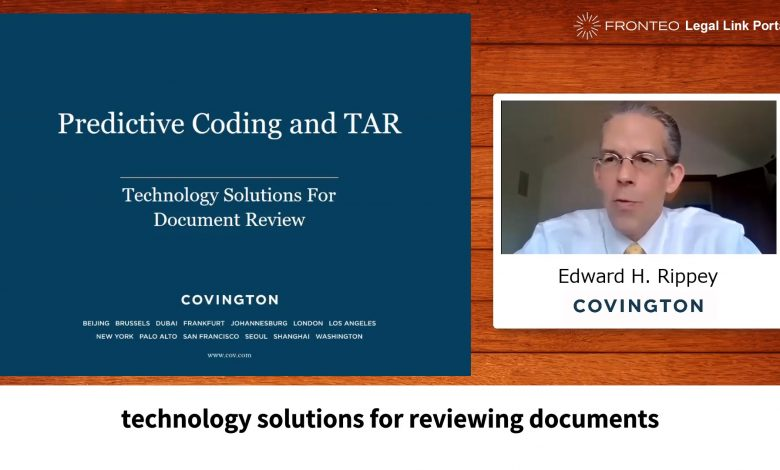 Photo of Predictive Coding and TAR