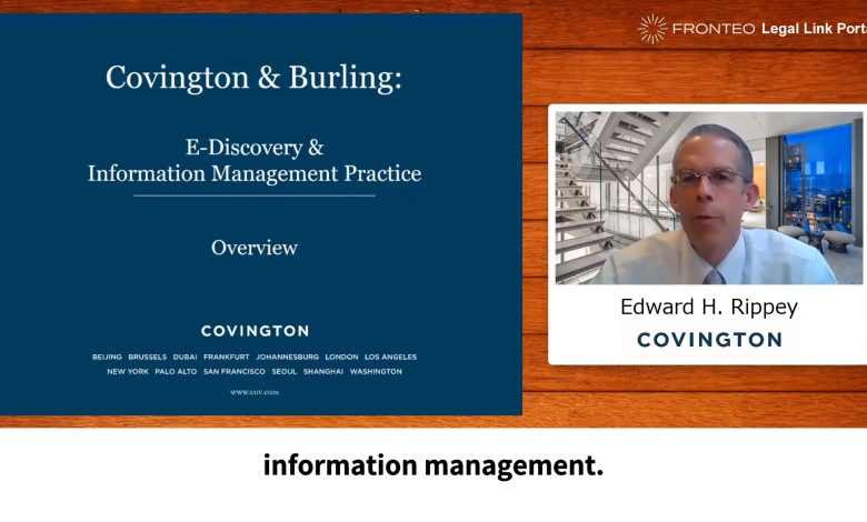 Photo of eDiscovery and Information Management Practice