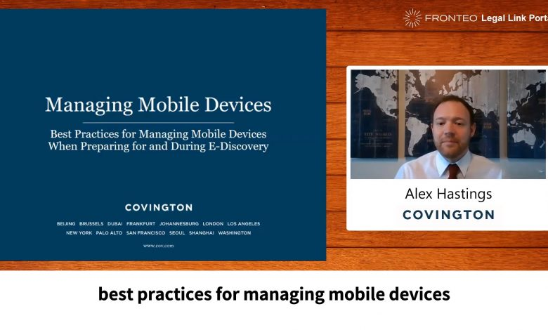 Photo of Managing Mobile Devices