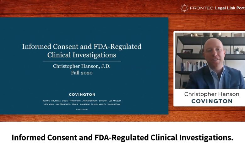 Photo of Informed Consent and FDA-Regulated Clinical Investigations