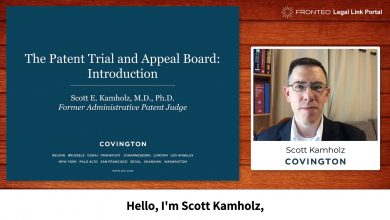 Photo of The Patent Trial and Appeal Board : Introduction