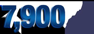 7,900件以上